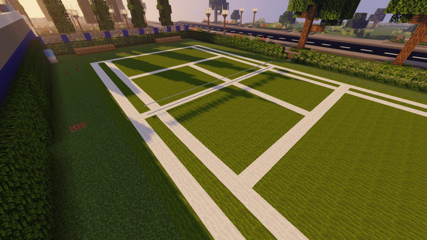 Creeper Tennis | Minecraft Survival Games | TogetherCraft Events