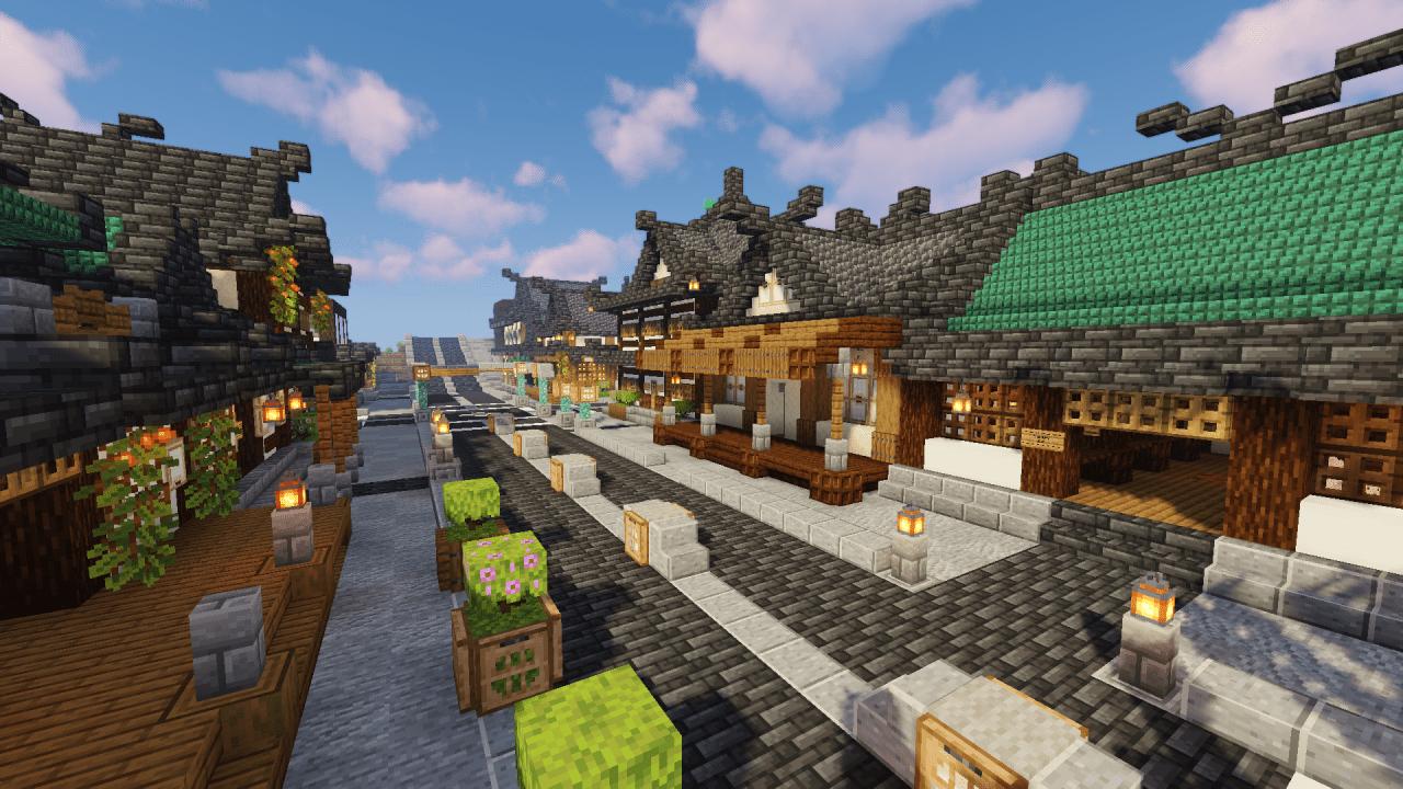 Oriental Minecraft Build