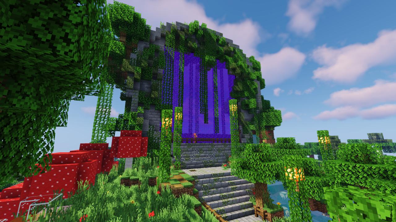 Minecraft Portal Design