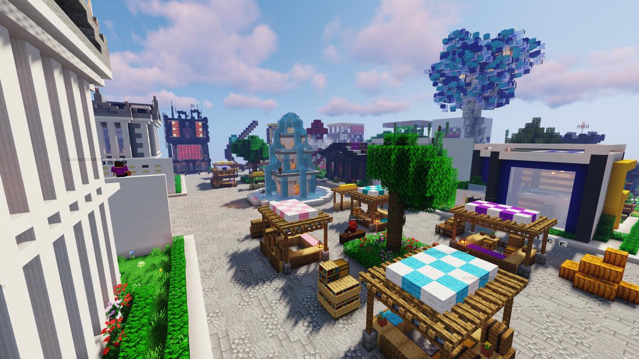 Minecraft Shopping District