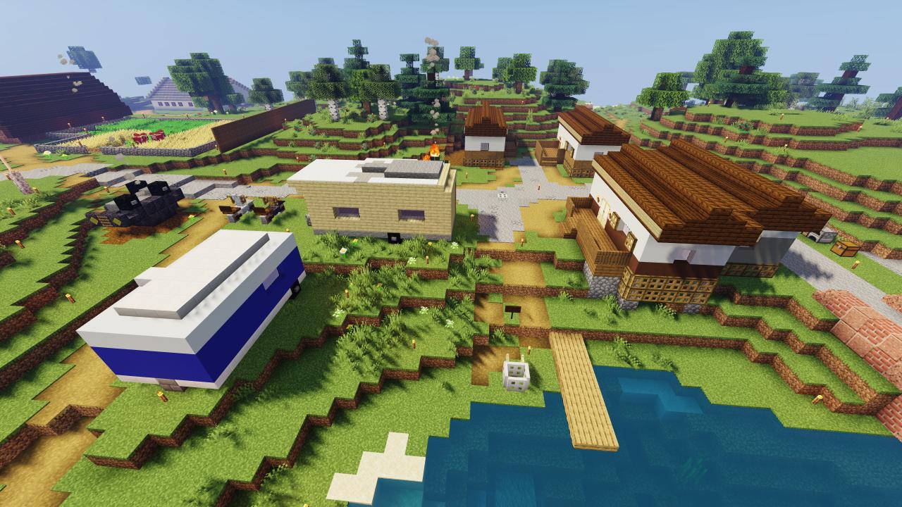 Minecraft Trailer Park